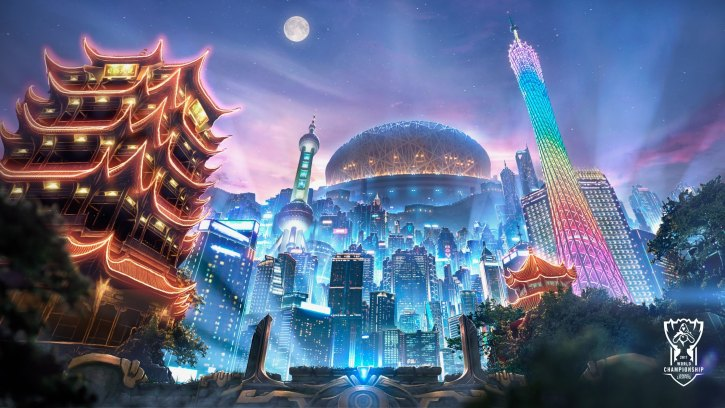 An image from the League of Legends battle arena