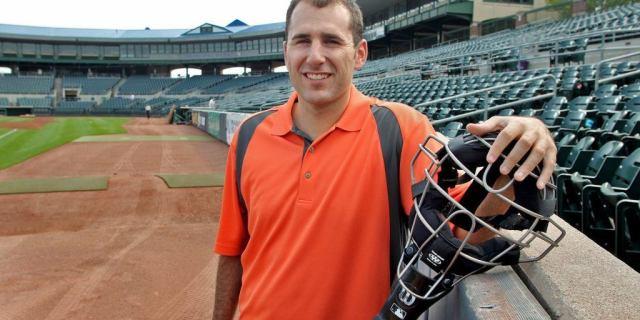 A photo of MLB umpire Pat Hoberg