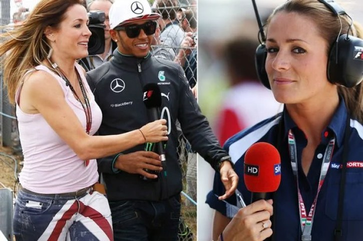 British TV presenter and Formula One pit lane reporter