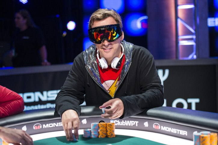Phil Laak, a famous poker player who featured in the movie 'Runner Runner'
