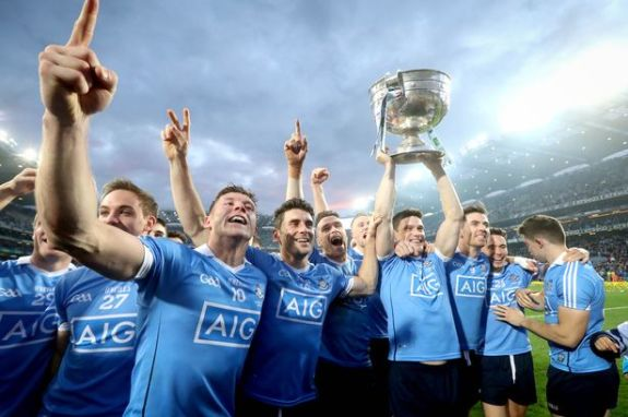 Winners of the Sam Maguire Cup