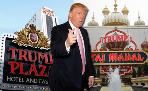Donald Trumps failed casino businessess