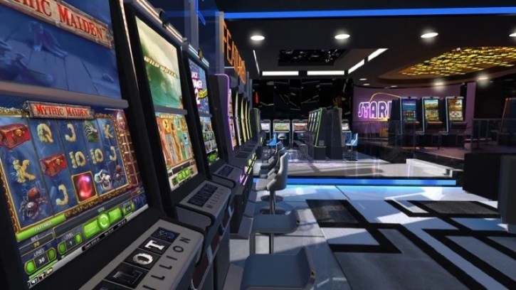 An image from VR Gambling addiction treatment