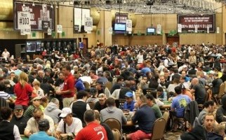 The World Series of Poker at the RIO Convention Center, possibly the only reason to visit Vegas during the oppressive summer months. (Image: pokerfuse.com)