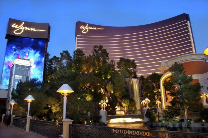 The Wynn Hotel and Casino in Las Vegas