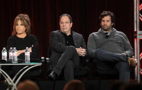 The only panel that Showtime producer Bryan Zuriff, far right, is likely to be part of in the future would involve a parole board hearing.