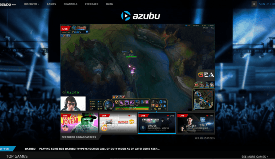 An example of a popular eSports gamer live streaming for his job