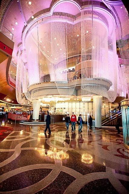 Chandelier Bar 100 Million Makeover Cosmopolitan Of Las Vegas