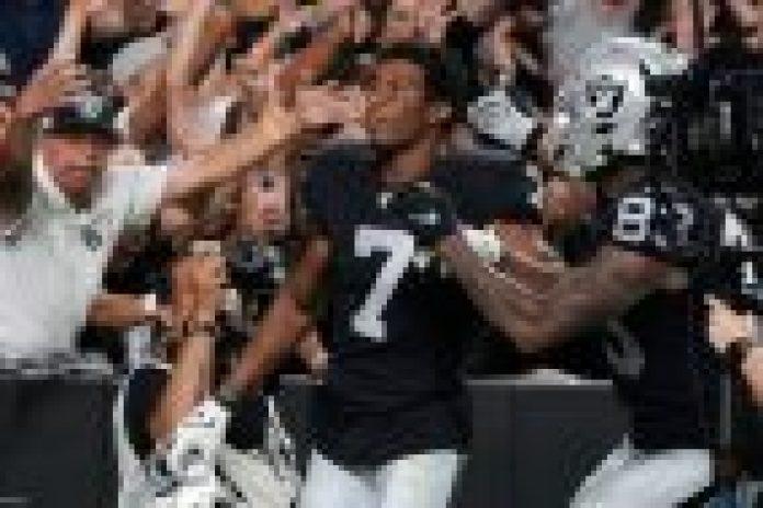 Las Vegas Raiders odds sports betting NFL