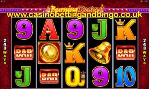 243 Ways to Win - Burning Desire Slot Machine