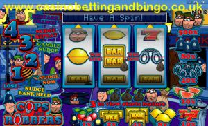 Cops N Robbers Fruit Machine Screenshot