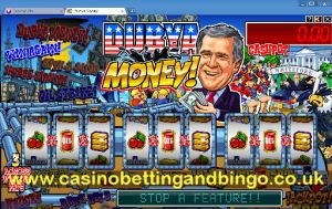 Dubya Money Bonus Screen