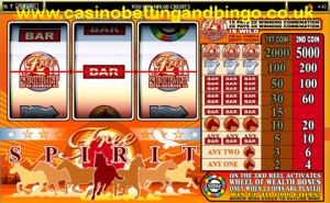 Free Spirit Wheel of Wealth Slot Machine Game