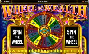 Wheel of Weath Bonus Spin