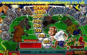 Game On! Fruit Machine Bonus Screen