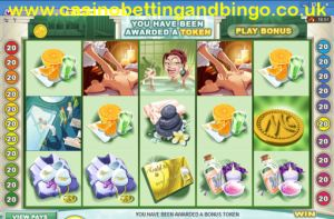 Wealth Spa Slot Machine Main Screen