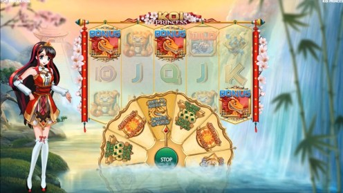Koi Princess slot game