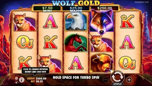 Wolf Gold slot game review