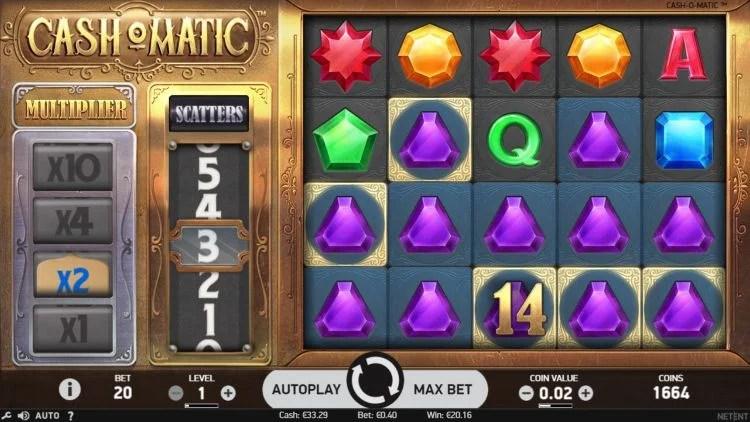Cash-o-Matic Netent Slot Review