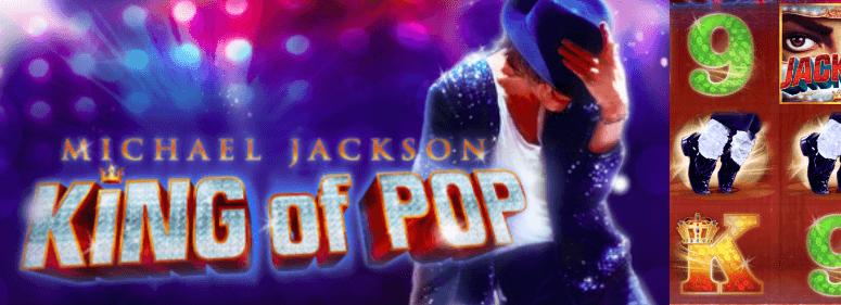 Ny slotmaskin Michael Jackson
