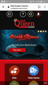 Red Queen Casino Review   Casinomeister     Online Casino Authority     red queen casino mobile slots