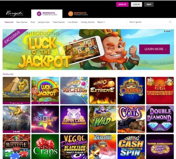 Borgata casino online games
