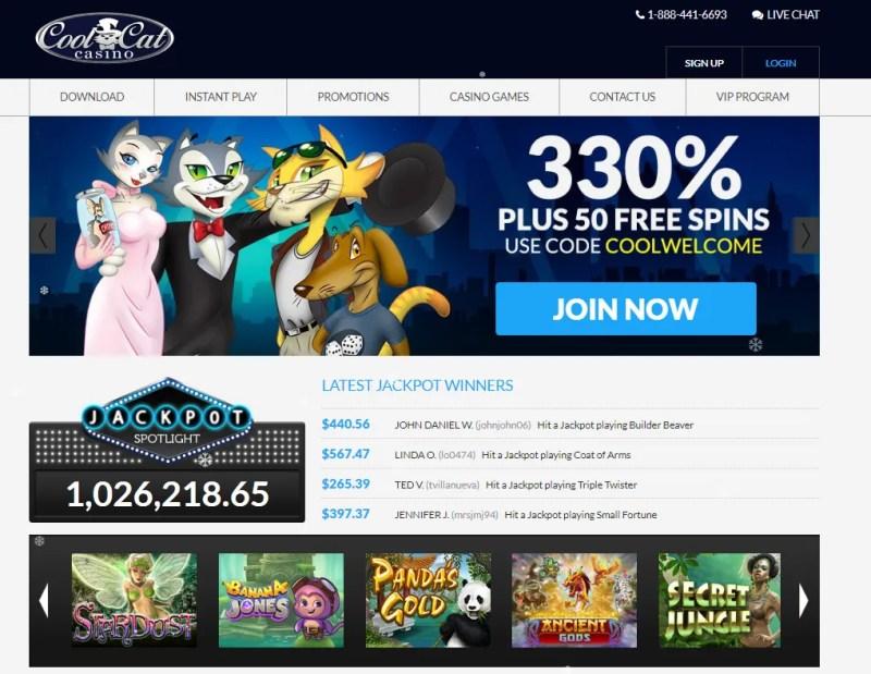 Cool cat casino Bonus
