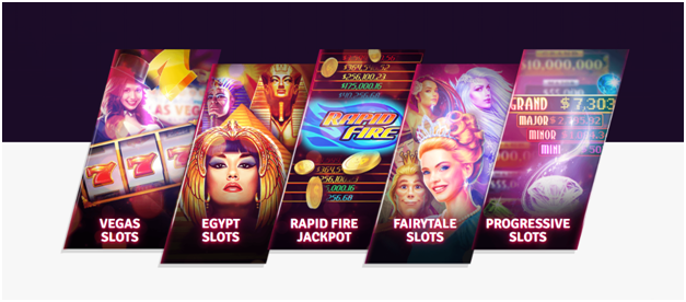 Play over 180 slots at House of Fun Casino