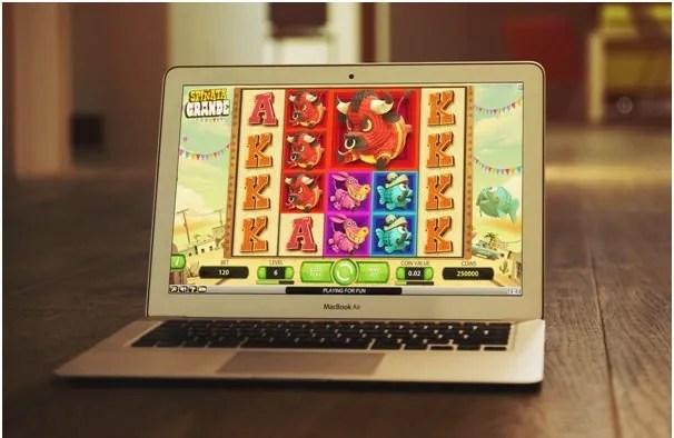 How do online casino work