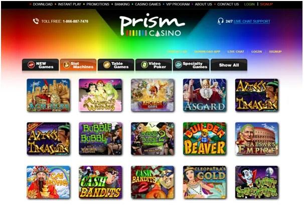 Prism Casino Games