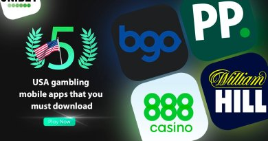 Top 5 USA gambling mobile apps that you must download