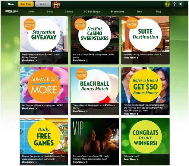 Tropicana gold casino online slots