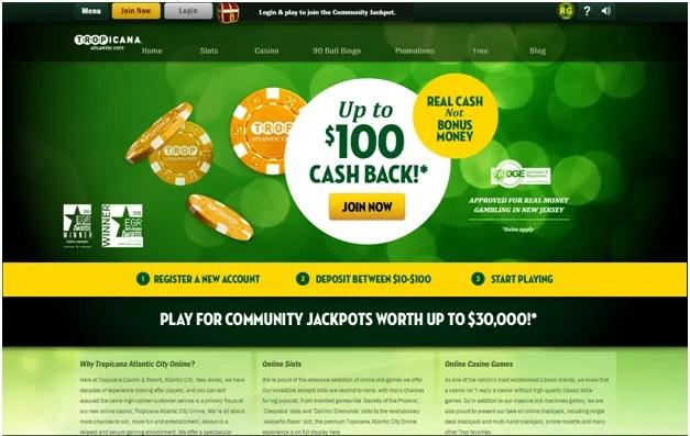 Tropicana online Casino USA