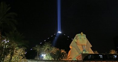 Why Luxor's Sky Beam Attracts Millions of People