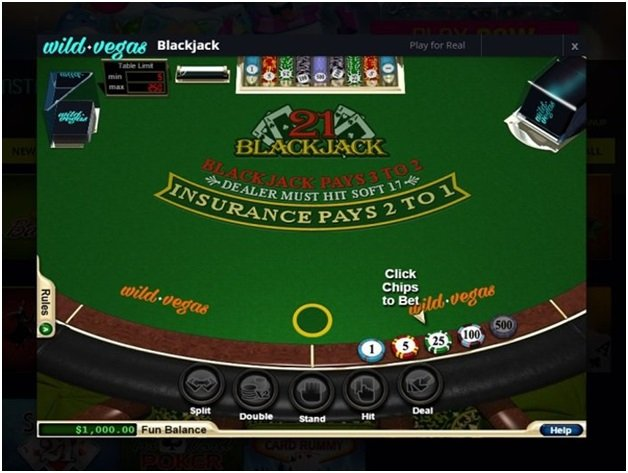 Wild Vegas Table Games