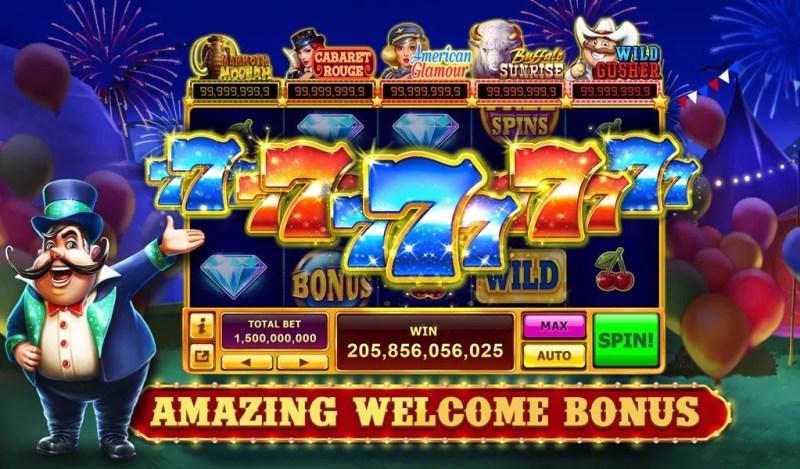 caesars slots casino free amazing welcome bonus