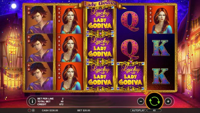 Lady Godiva Reels