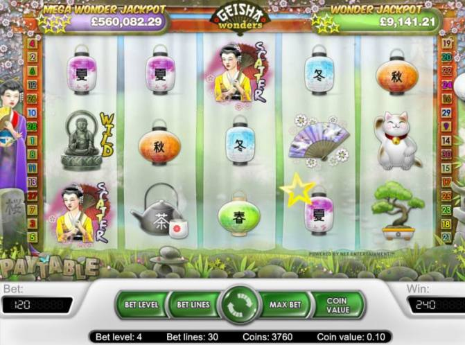 Geisha Wonders – Play Geisha Wonders Video Slot