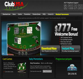 club usa casino bonus