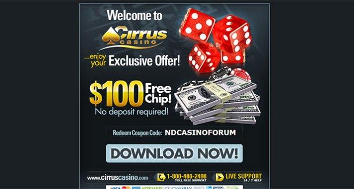 Cirrus Casino Complaint - Blacklisted
