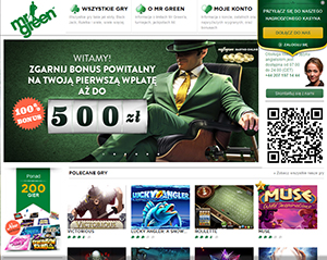 Mr Green Online Casino Welcomes Poland Players With Great New Bonus