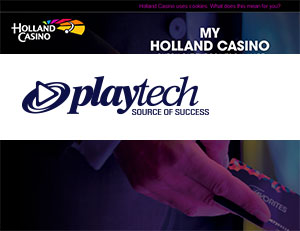 Holland Casino Prepares for Online Gambling with Playtech Deal