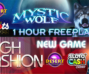 One Hour Free Play Weekend Plus New High Fashion Slots