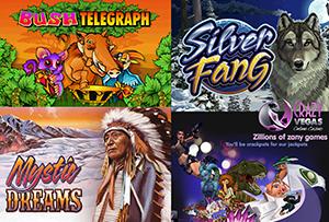 Crazy Vegas Casino's Bonus Offering on Three New Mobile Slots