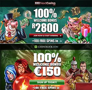 New Bonuses Plus 100 Free Spins on Select NetEnt Slots
