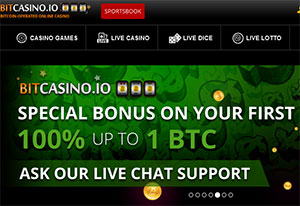Join BitCasino, Online's First Bitcoin-Only Platform
