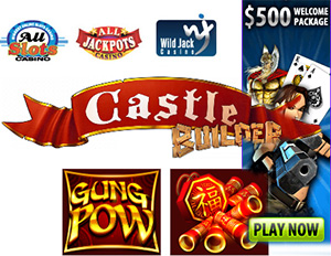 New Slots Games from All Slots, Wild Jack and All Jackpots
