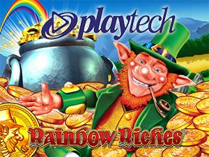 Playtech's Networked Jackpot Rainbow Riches ™ Bingo
