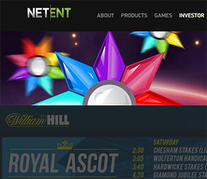 NetEnt, William Hill Land Based Content Deal Happens