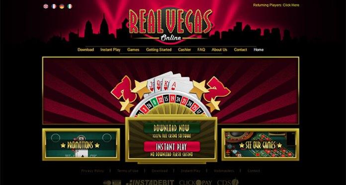 Real Vegas Online Casino Scam
